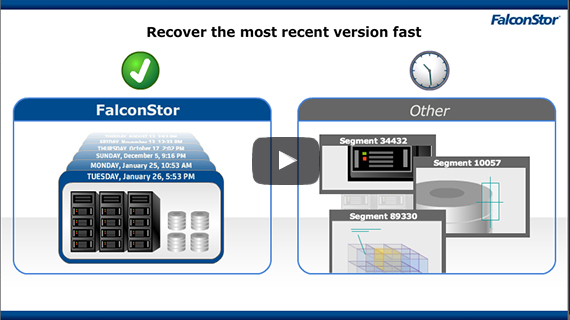 link to explainer video on storage solution using snapshot and replication technology